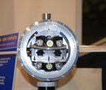In questa foto si vede la prua del robot sottomarino VENUS.