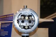 In questa foto si vede la prua del robot sottomarino VENUS