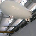 In questa foto si vede il robot aereo, denominato Zero , in azione.
