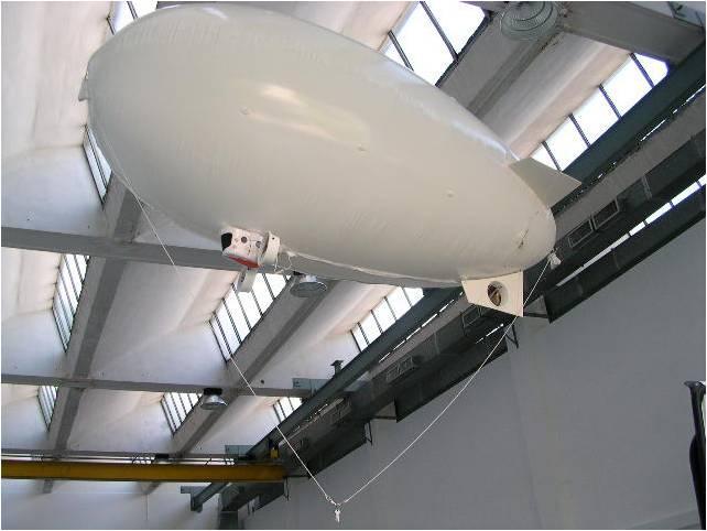 In questa foto si vede il robot aereo, denominato Zero , in azione