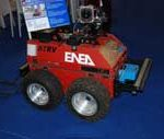 Prassi robot equipped with cameras
