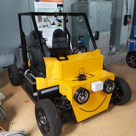 Photo of Autonomous electric vehicle